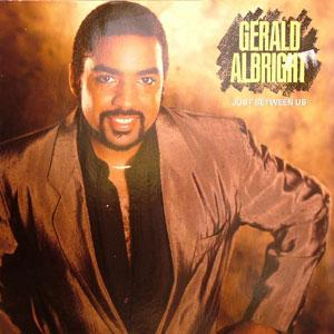 Album  Cover Gerald Albright - Just Between Us on ATLANTIC Records from 1987