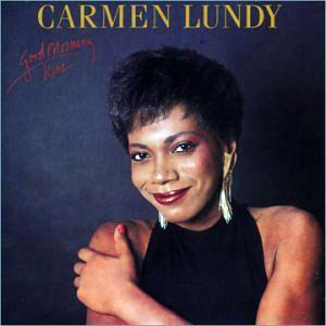 Album  Cover Carmen Lundy - Good Morning Kiss on BLACK HAWK Records from 1985