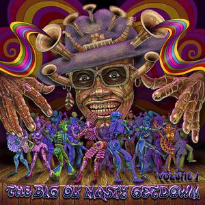 Front Cover Album Various Artists - The Big Ol' Nasty Getdown
