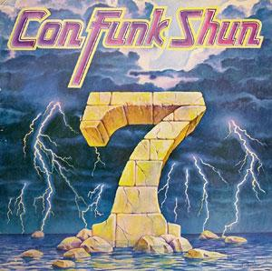 Album  Cover Con Funk Shun - 7 (seven) on MERCURY Records from 1981