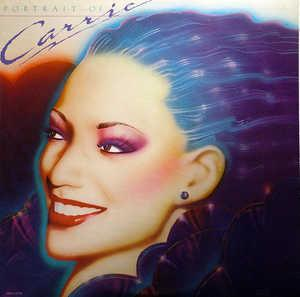 Album  Cover Carrie Lucas - Portrait Of Carrie on SOLAR Records from 1980