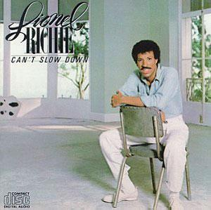 Album  Cover Lionel Richie - Can't Slow Down on MOTOWN Records from 1983