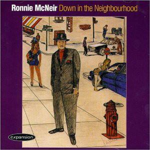 Front Cover Album Ronnie Mcneir - Down In The Neighbourhood
