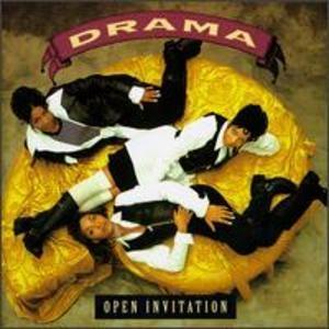 Album  Cover Drama - Open Invitation on PERSPECTIVE Records from 1994