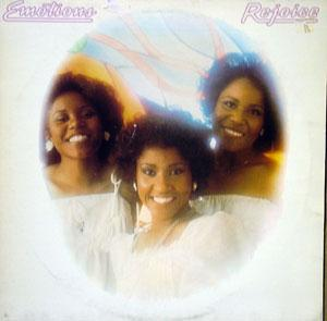 Album  Cover The Emotions - Rejoice on COLUMBIA Records from 1977