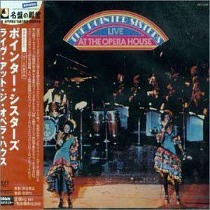 Album  Cover Pointer Sisters - Live At The Opera House on BLUE THUMB Records from 1974