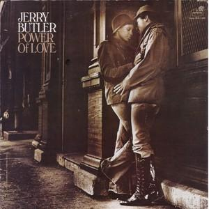 Front Cover Album Jerry Butler - The Power Of Love