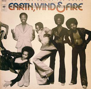 Album  Cover Wind & Fire Earth - That's The Way Of The World on CBS Records from 1975