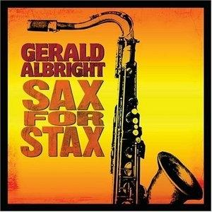 Album  Cover Gerald Albright - Sax For Stax on PEAK Records from 2008
