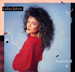 Album  Cover La Toya Jackson - Imagination on PRIVATE EYE Records from 1986