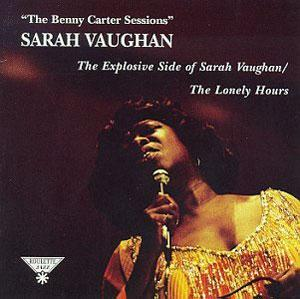 Front Cover Album Sarah Vaughan - Benny Carter Sessions