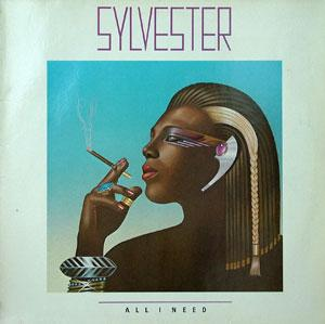 Album  Cover Sylvester - All I Need on MEGATONE Records from 1982