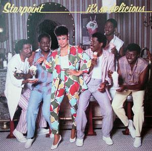 Album  Cover Starpoint - It's So Delicious on ELEKTRA Records from 1983