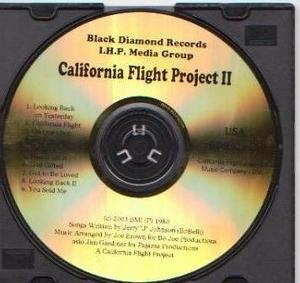 Front Cover Album California Flight Project - California Flight Project II
