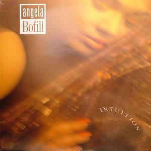 Album  Cover Angela Bofill - Intuition on CAPITOL Records from 1988