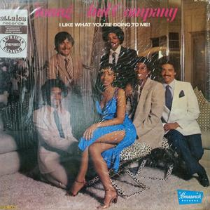 Album  Cover Young And Company - I Like (what You're Doing To Me) on BRUNSWICK Records from 1980