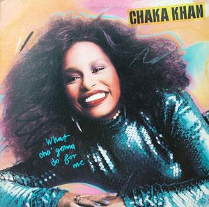 Album  Cover Chaka Khan - What Cha' Gonna Do For Me on WARNER BROS. Records from 1981