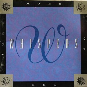Front Cover Album The Whispers - More Of The Night