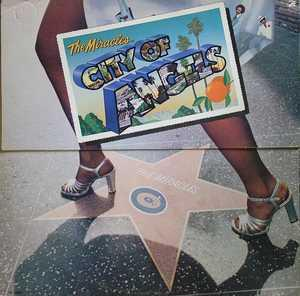 Front Cover Album The Miracles - City Of Angels