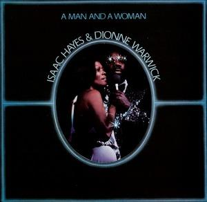 Album  Cover Isaac Hayes - A Man And A Woman on HBS Records from 1977