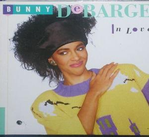 Album  Cover Bunny Debarge - In Love on MOTOWN Records from 1987