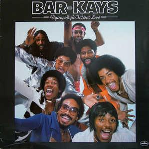 Front Cover Album The Bar Kays - Flying High On Your Love