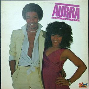 Front Cover Album Aurra - Send Your Love