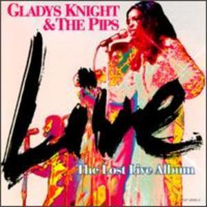 Album  Cover Gladys Knight & The Pips - Lost Live Album on BUDDAH Records from 1996