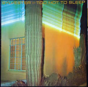 Album  Cover Sylvester - Too Hot To Sleep on HONEY Records from 1981