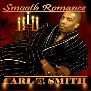 Album  Cover Carl T. Smith - Smooth Romance on PLAYDEES Records from 2010