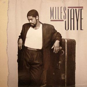 Album  Cover Miles Jaye - Miles on ISLAND Records from 1987