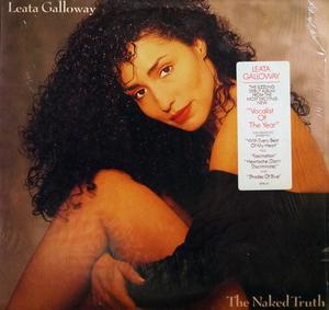Album  Cover Leata Galloway - The Naked Truth on COLUMBIA Records from 1988