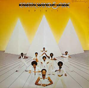 Album  Cover Wind & Fire Earth - Spirit on COLUMBIA Records from 1976