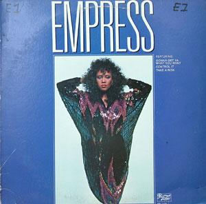 Album  Cover Empress - Empress on PRELUDE Records from 1981