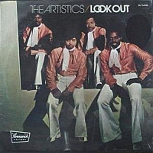 Front Cover Album The Artistics - Look Out