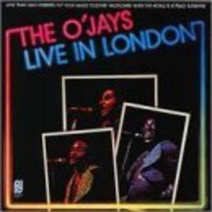 Front Cover Album The O'jays - The O'Jays Live In London