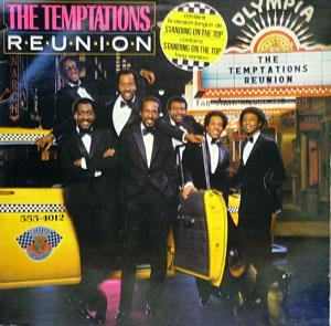 Album  Cover The Temptations - Reunion on GORDY Records from 1982