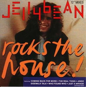Album  Cover Jellybean - Rock The House! 12inch Mixes on CHRYSALIS Records from 1988