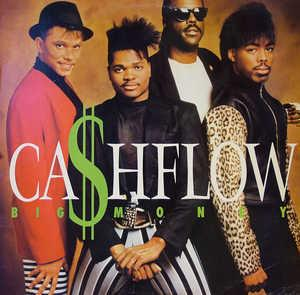 Album  Cover Ca$hflow - Big Money on ATLANTA ARTISTS Records from 1988