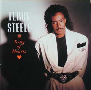 Album  Cover Terry Steele - King Of Hearts on SBK Records from 1990