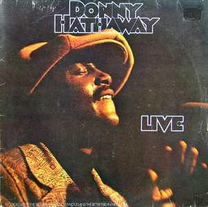 Album  Cover Donny Hathaway - Donny Hathaway Live on ATCO Records from 1972