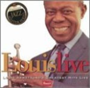 Album  Cover Louis Armstrong - Louis Live on DEMAND Records from 2000