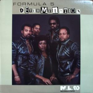 Album  Cover Formula Five - Determination on MALACO Records from 1985