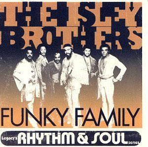 Front Cover Album The Isley Brothers - Funky Family
