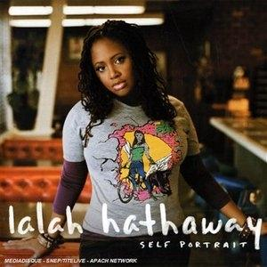 Album  Cover Lalah Hathaway - Self Portrait on STAX Records from 2008