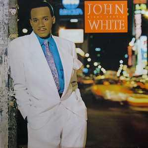 Album  Cover John White - Night People on GEFFEN Records from 1987