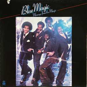 Front Cover Album Blue Magic - Message From The Magic