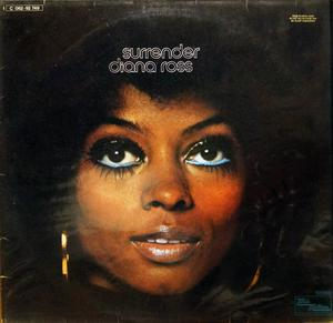 Front Cover Album Diana Ross - Surrender