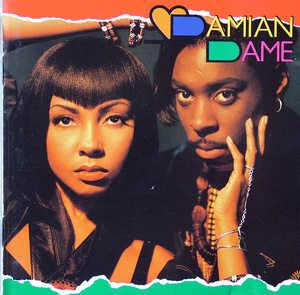 Album  Cover Damian Dame - Damian Dame on LAFACE Records from 1991