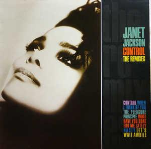 Album  Cover Janet Jackson - Control: The Remixes on A&M Records from 1987